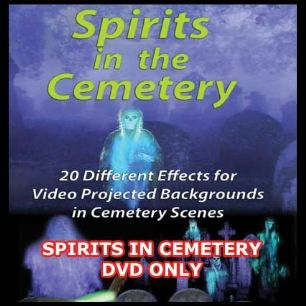 SPIRITS IN CEMETERY DVD
